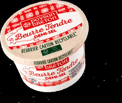 Beurre pot carton